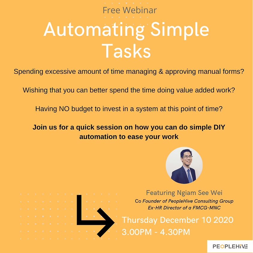 [Webinar] Automating Simple Tasks