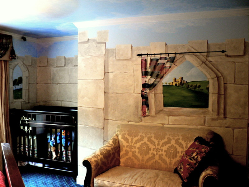 "Child's ""Castle Room"" After"
