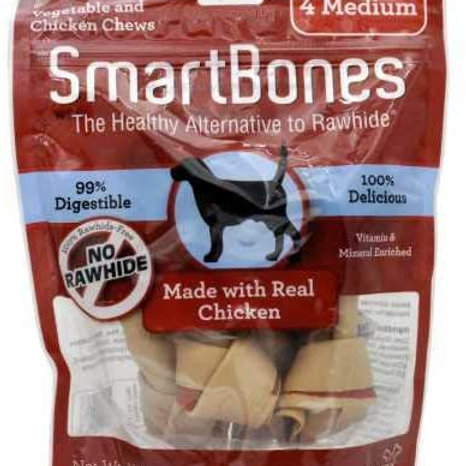 SmartBones Chicken Medium Bones