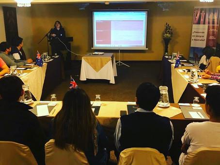 Our First Seminar in Lima, Peru