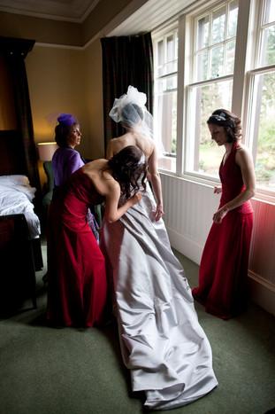 Victorian bridal veil