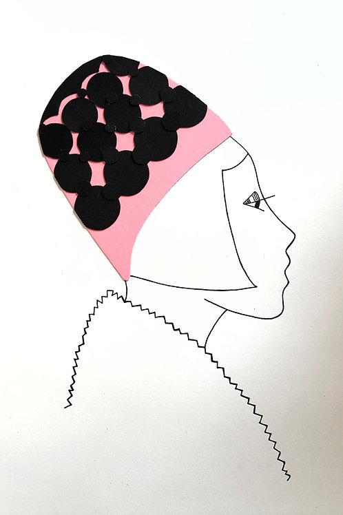 'Audrey' Print