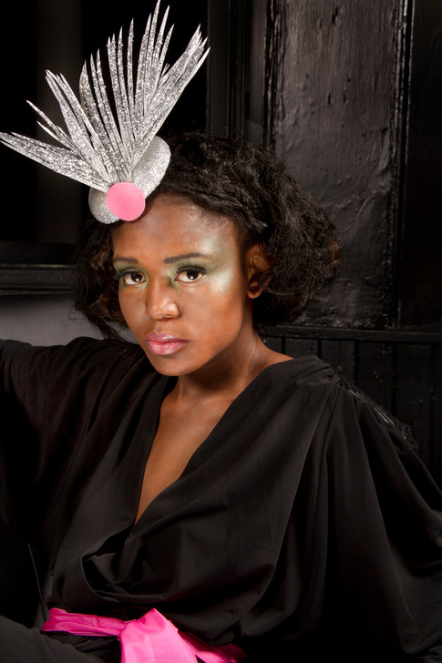 Silver Quill Headpiece