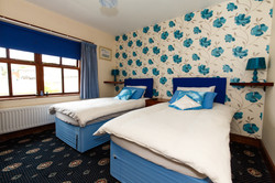 One of our twin rooms: Ballagarey