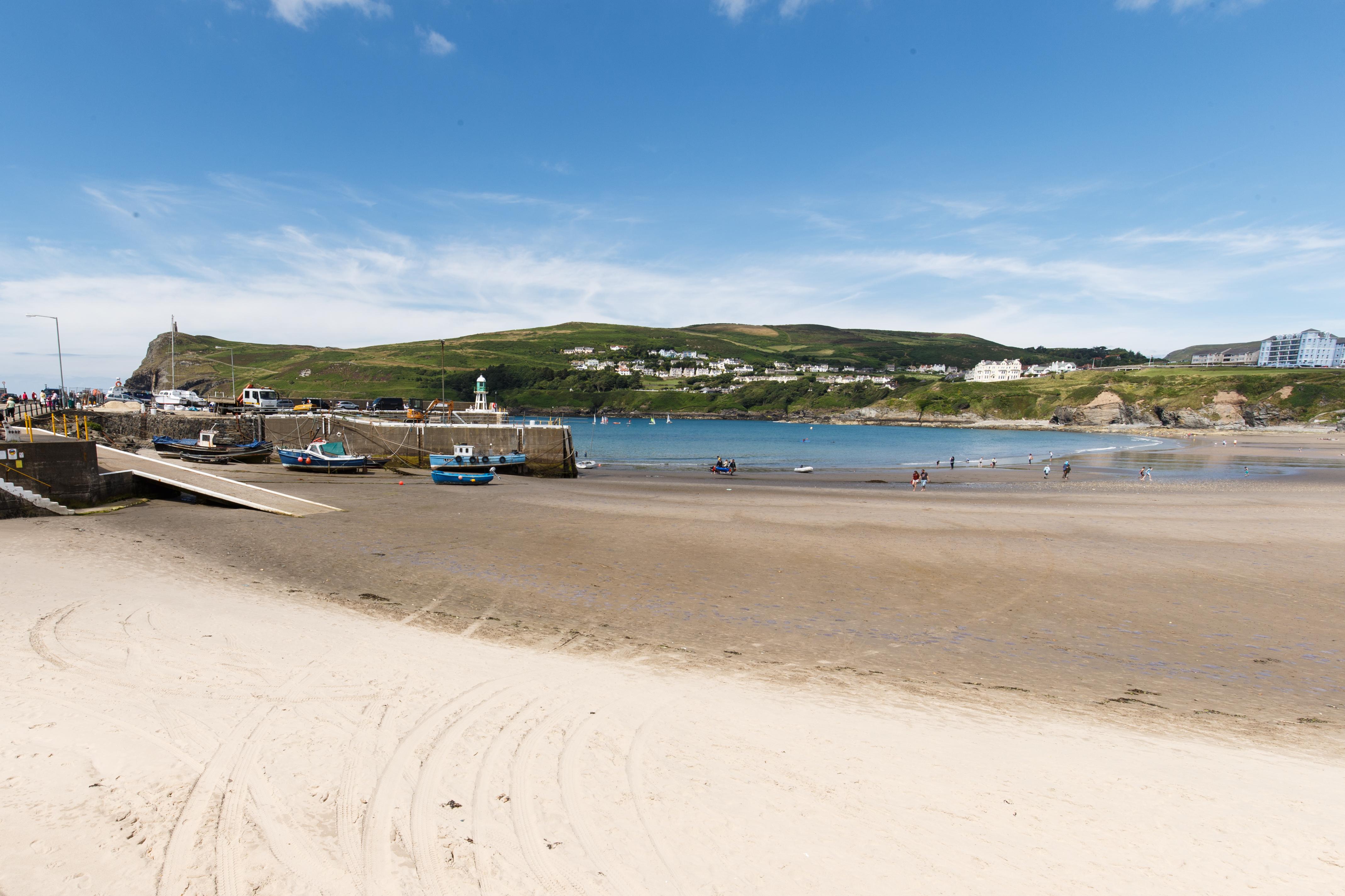 Port Erin's beautiful sandy beach