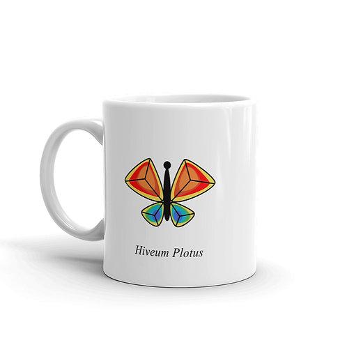Datavizbutterfly - Hiveum Plotus - Mug