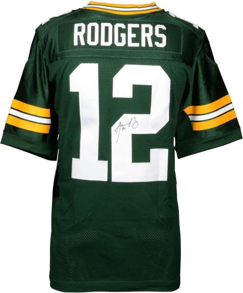 Rodgers, Aaron Autographed Packers Jersey