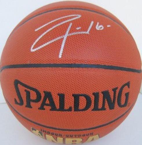 Gasol, Pau Autographed Spalding Basketball