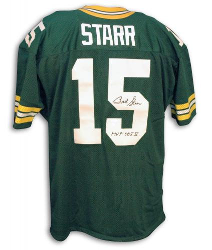 Starr, Bart Autographed Packers Jersey