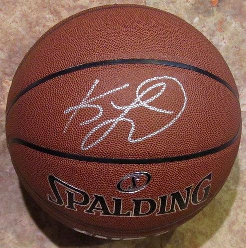 Leonard, Kawhi Autographed Spalding Basketball