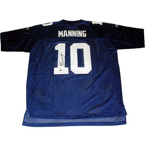 Manning, Eli Autographed Giants Jersey