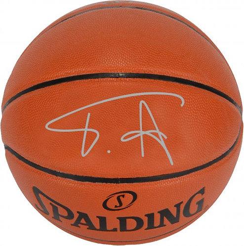 Antetokounmpo, Giannis Autographed Spalding Basketball