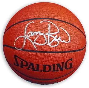 Bird, Larry Autographed Spalding Basketball