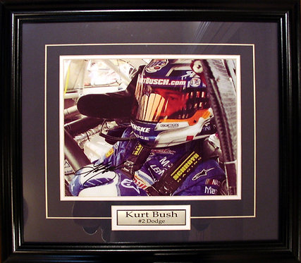 Busch, Kurt Autographed 8x10 Photo Framed