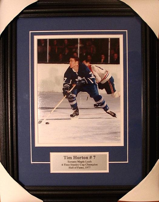 Horton, Tim Maple Leafs 8x10 Framed