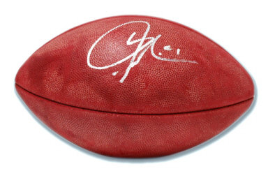 Tomlinson, LaDanian Autographed NFL Wilson Football