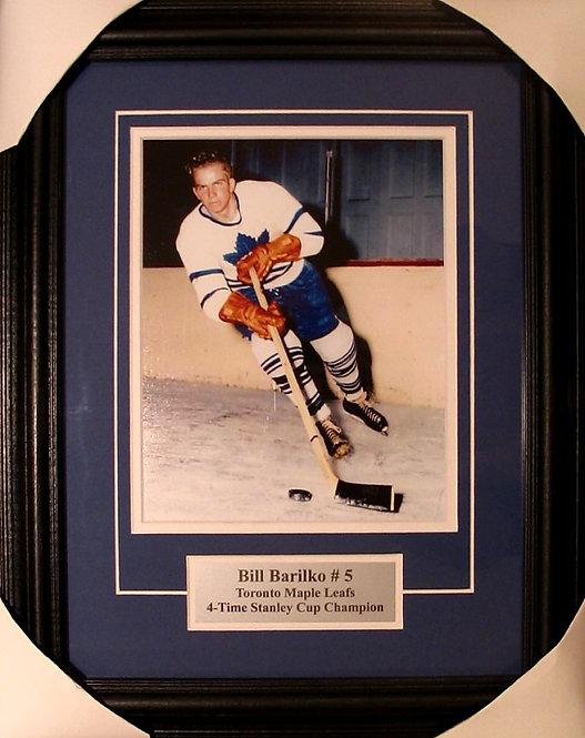 Barilko, Bill Maple Leafs 8x10 Photo Framed