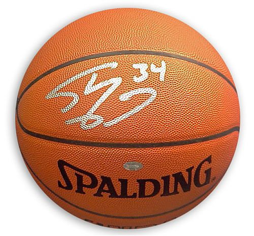 O'Neal, Shaquille Autographed Spalding Basketball