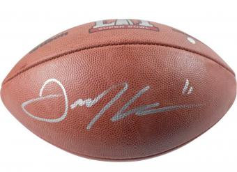 Edelman, Julian Autographed NFL Wilson Football