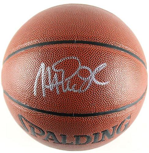 "Johnson, ""Magic"" Earving Autographed Spalding Basketball"
