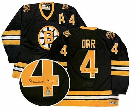 Orr, Bobby Autographed Bruins Bicentennial Anniversary Jersey