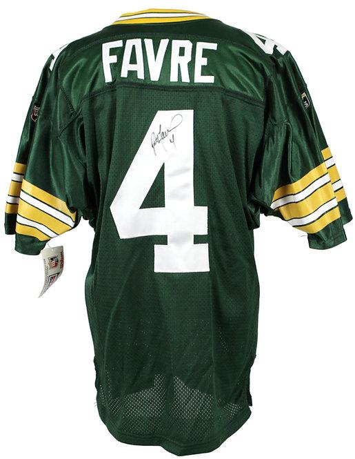 Favre, Brett Autographed Packers Jersey