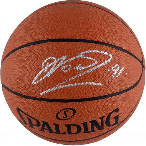 Nowitzki, Dirk Autographed Spalding Basketball
