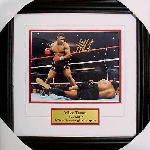 Tyson, Mike Autographed 8x10 Photo Framed
