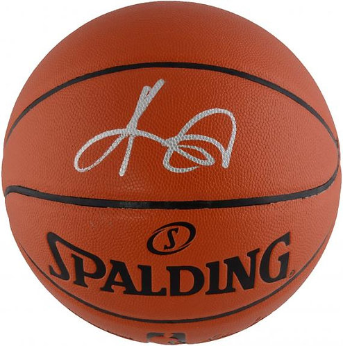 Irving, Kyrie Autographed Spalding Basketball