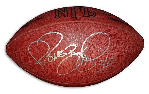 Bettis, Jerome Autographed NFL Wilson Football