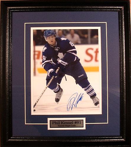 Kessel, Phil Autographed Maple Leafs 8x10 Photo Framed