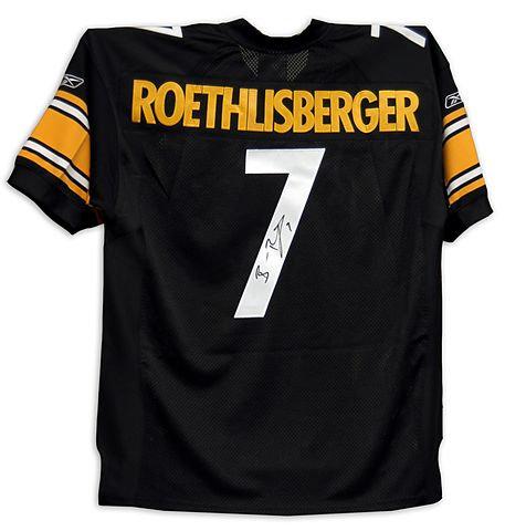 Roethlisberger, Ben Autographed Steelers Jersey