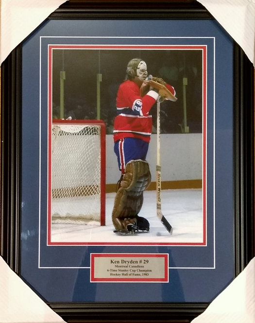 "Dryden, Ken Canadiens ""The Pose"" 11x14 Framed"