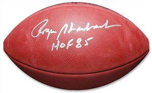 Staubach, Roger Autographed NFL Wilson Football