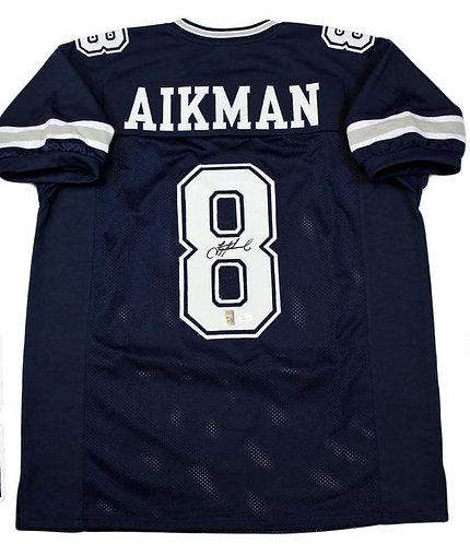 Aikman, Troy Autographed Cowboys Jersey