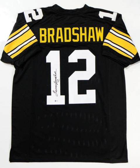 Bradshaw, Terry Autographed Steelers Jersey