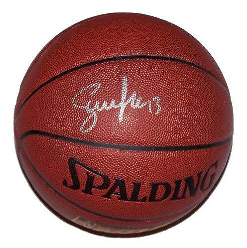 Nash, Steve Autographed Spalding Basketball