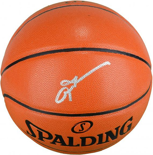 Iverson, Allen Autographed Spalding Basketball