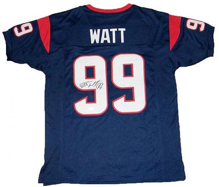 Watt, J.J. Autographed Texans Jersey