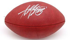 Peterson, Adrian Autographed NFL Wilson Football