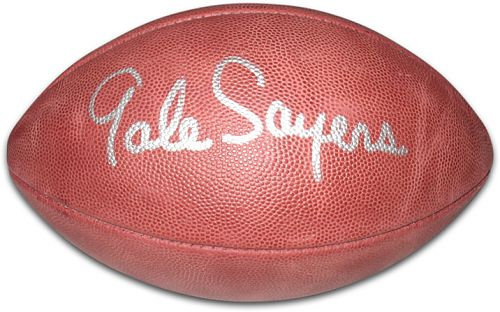 Sayers, Gale Autographed NFL Wilson Football