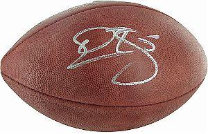 McNabb, Donovan Autographed NFL Wilson Football