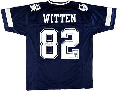 Witten, Jason Autographed Cowboys Jersey