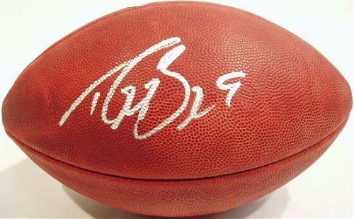 Brees, Drew Autographed NFL Wilson Football
