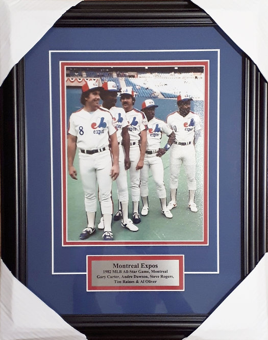 Montreal Expos 1982 Expos 8x10 Photo Framed