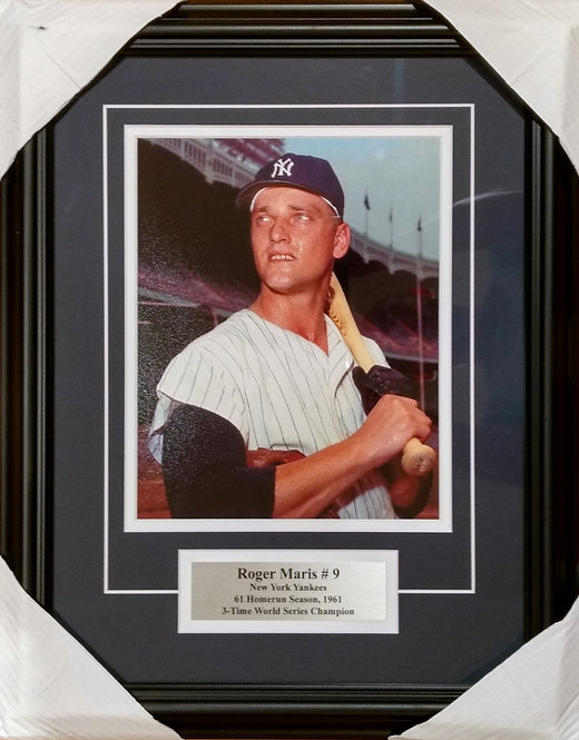 Maris, Roger Yankees 8x10 Photo Framed