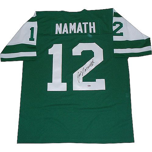 Namath, Joe Autographed Jets Jersey