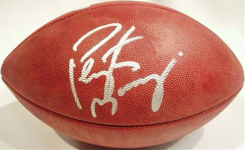 Manning, Peyton Autographed NFL Wilson Football