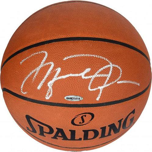 Jordan, Michael Autographed Spalding Basketball