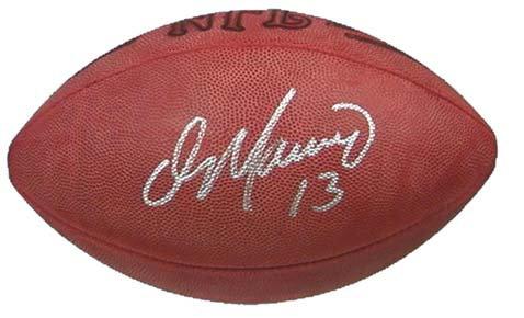 Marino, Dan Autographed NFL Wilson Football